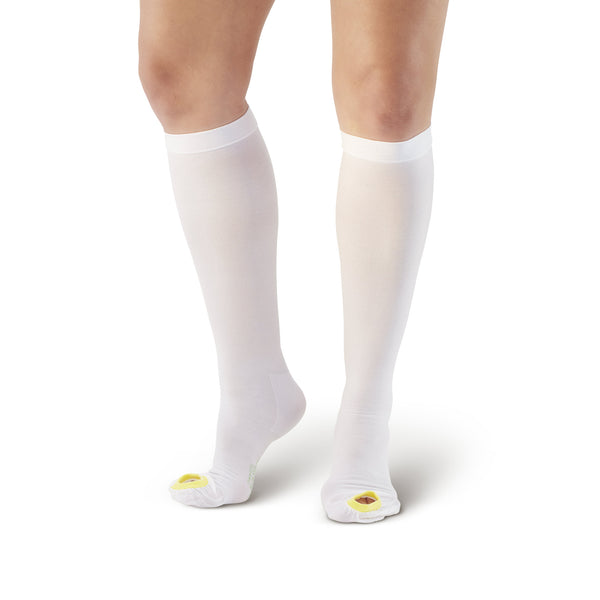AW Style 400 Anti-Embolism Inspection Toe Knee High Stockings - 18 mmHg
