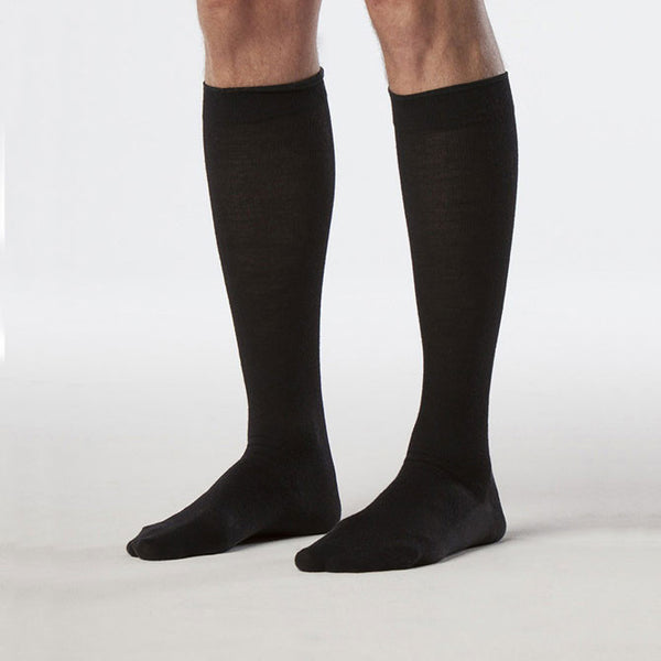 Sigvaris 192 Zurich Collection Men's All-Season Wool Socks  - 15-20 mmHg