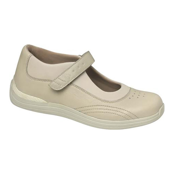Drew Women's Active Rose Shoes - Bone Pebble Leather