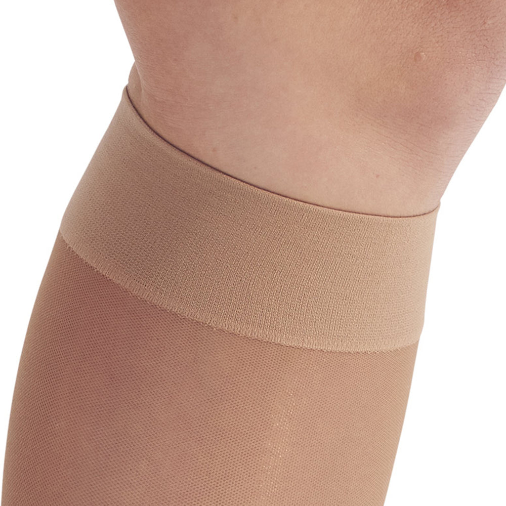 7950069f9 ... AW Style 44 Sheer Support Open Toe Knee Highs - 20-30 mmHg - Band ...