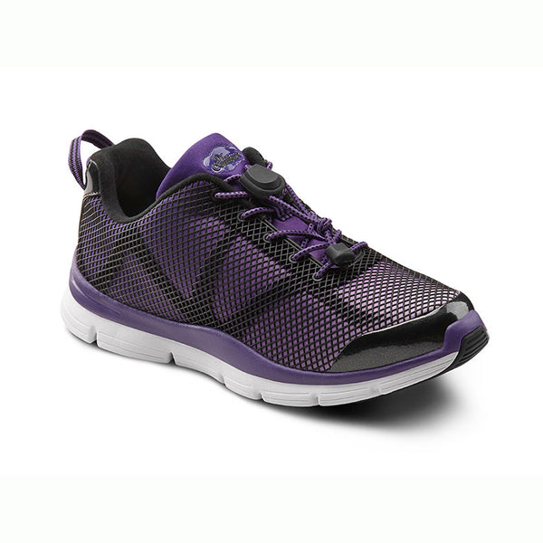 Dr. Comfort Women's Katy Athletic Shoes - Purple