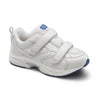 Dr. Comfort Women's Spirit X Double Velcro Shoes - White
