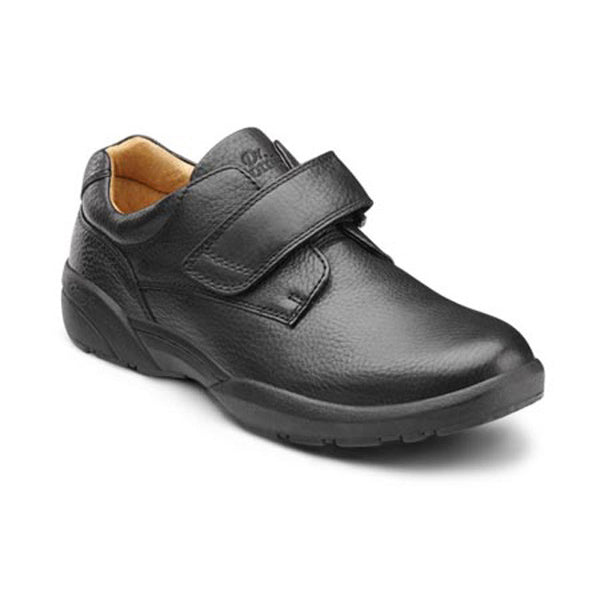 Dr. Comfort Men's Casual Comfort William Shoes - Black
