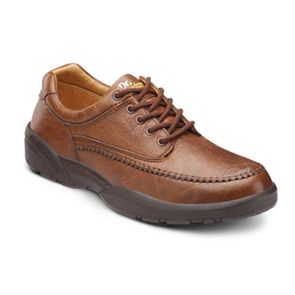 Dr. Comfort Men's Casual Comfort Stallion Shoes - Chestnut