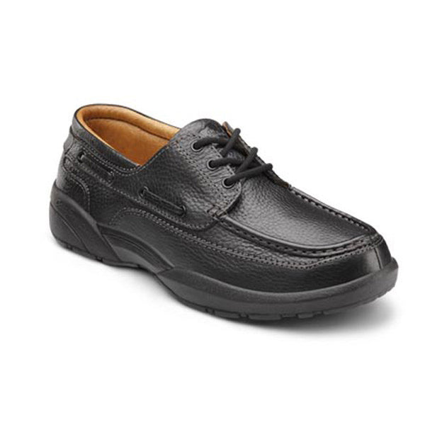 Dr. Comfort Men's Casual Comfort Patrick Shoes - Black