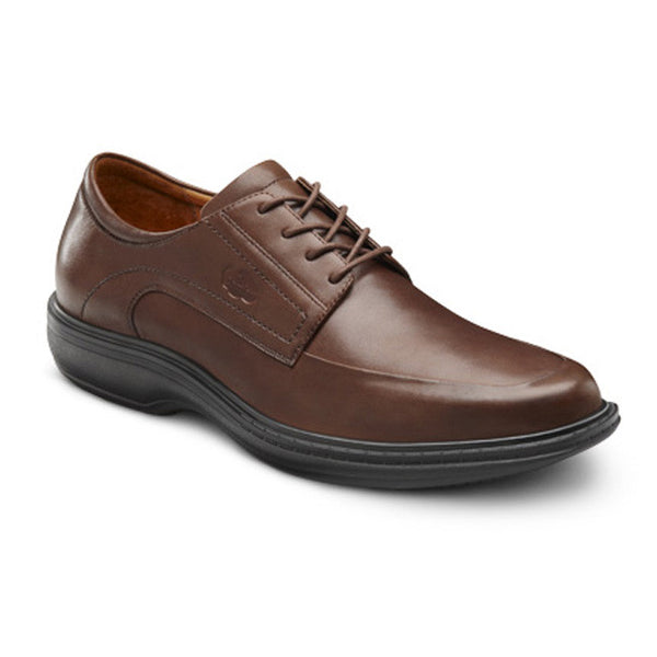 Dr. Comfort Men's Classic Dress Shoes - Chestnut