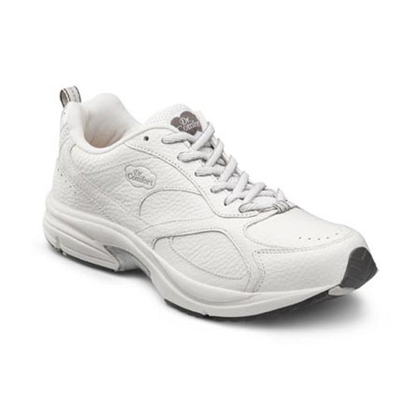 Dr. Comfort Men's Athletic Winner Plus Shoes - White