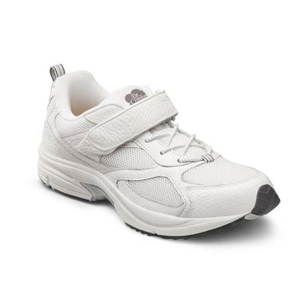 Dr. Comfort Men's Athletic Endurance Shoes - White
