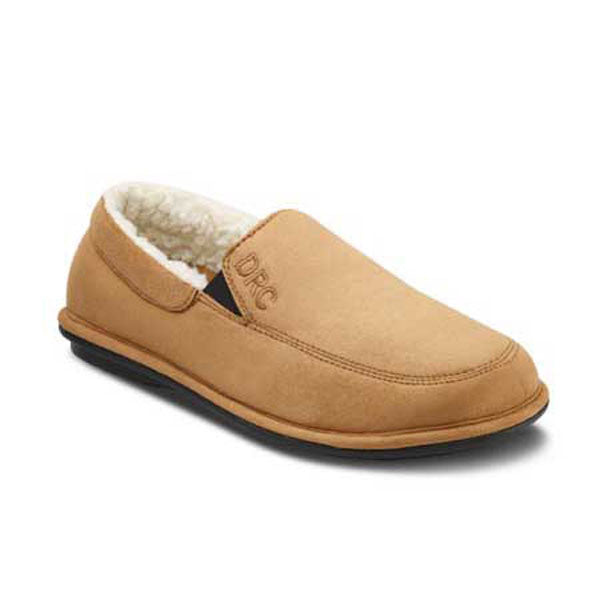 Dr. Comfort Men's Relax Slippers - Camel