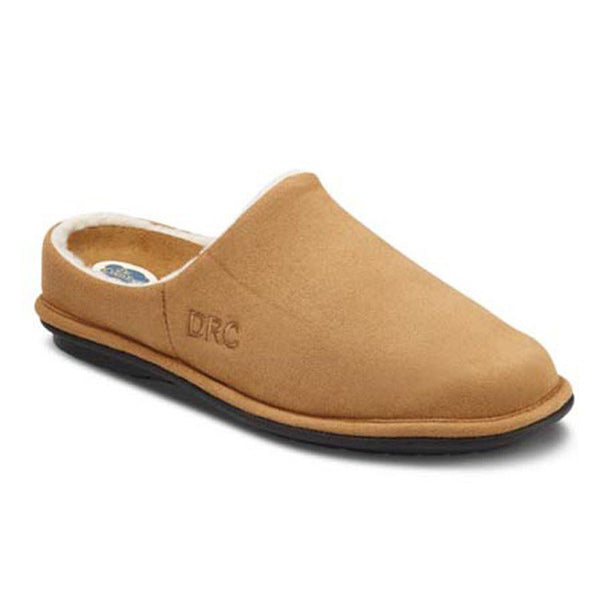 Dr. Comfort Men's Easy Slippers - Camel
