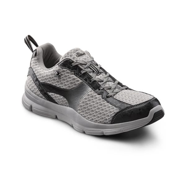 Dr. Comfort Men's Chris Athletic Shoes - Grey