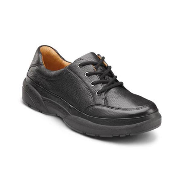 Dr. Comfort Men's Justin Casual Comfort Shoes - Black