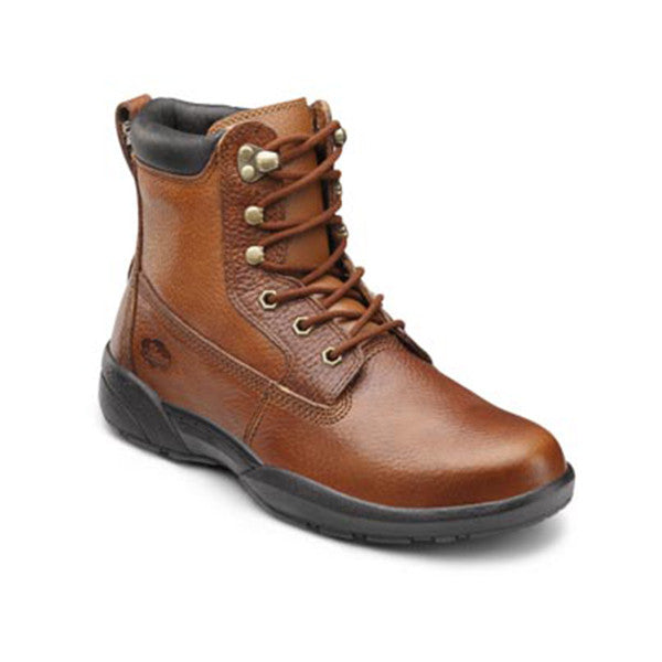 Dr. Comfort Men's Boss Work Boots - Chestnut