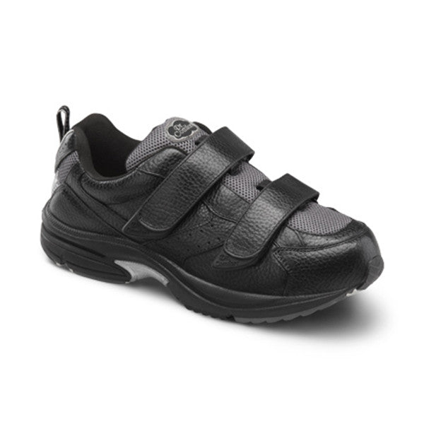 Dr. Comfort Men's Winner X w/Double Velcro Shoes