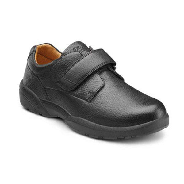 Dr. Comfort Men's William X Leather w/Velcro Shoes