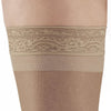 AW Style 45 Sheer Support Open Toe Thigh Highs w/Lace Band - 15-20 mmHg - Band