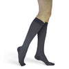 Sigvaris Compression Socks Mini Stripe Navy Microfiber Women