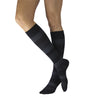 Sigvaris 832 Microfiber Shades Men's Closed Toe Knee High Socks - 20-30 mmHg -Onyx Stripe