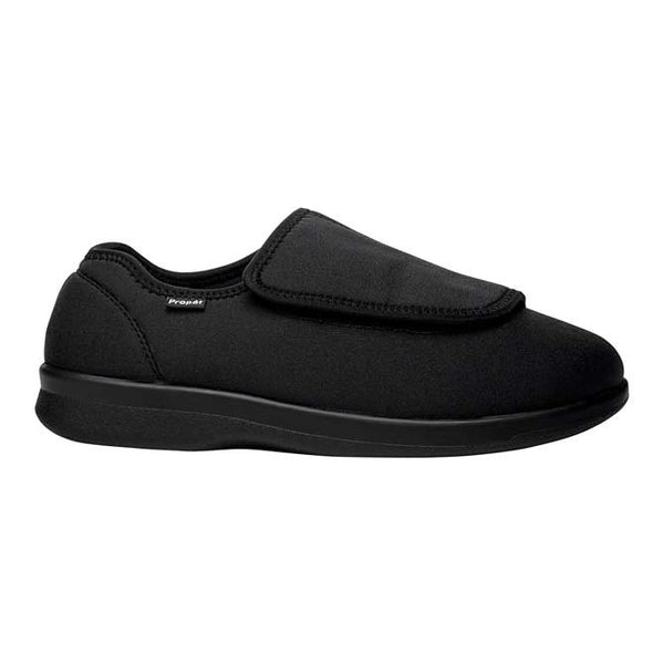 Propet Men's Cush'n Foot Slippers - Black
