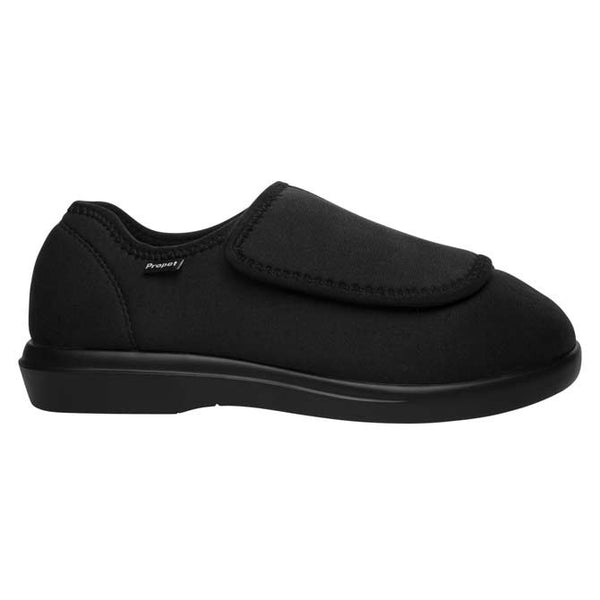 Propet Women's Cush'n Foot Slippers - Black