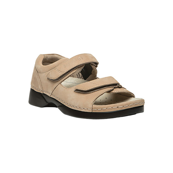 Propet Women's Pedic Walker Sandals - Dusty Taupe Nubuck