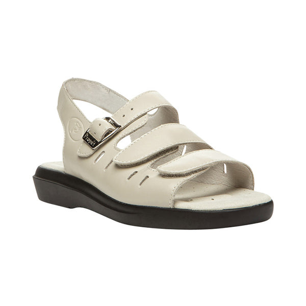 Propet Women's Breeze Sandals - Bone Smooth