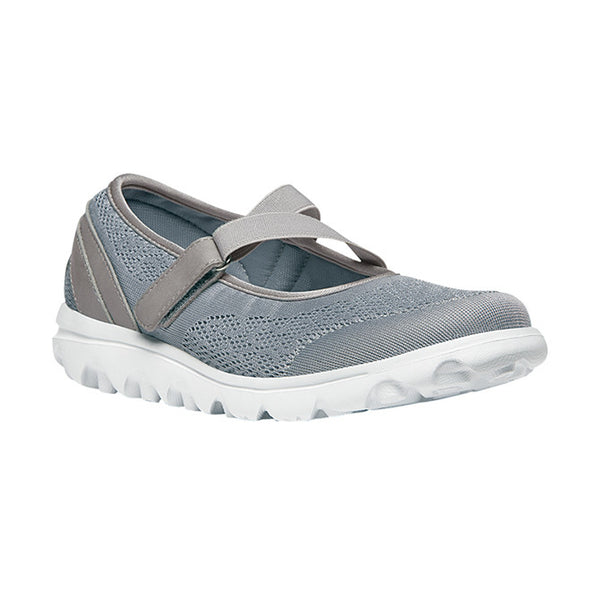 Propet Women's TravelActiv Mary Jane - Silver