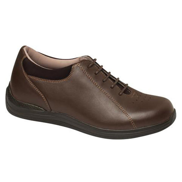 Drew Women's Tulip Active Shoes - Brown Full Grain Leather