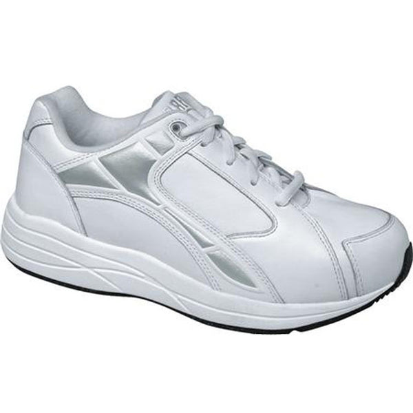 Drew Women's Motion Athletic Shoes - White Leather