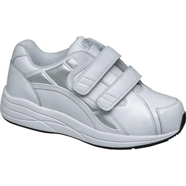 Drew Women's Motion V Athletic Shoes - White Leather