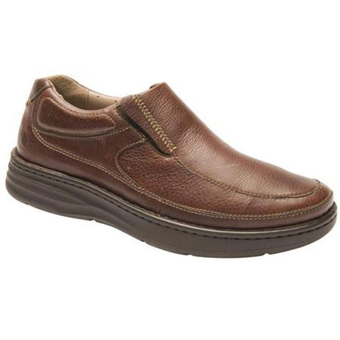 Drew Men's Bexley Casual Shoes - Brown Leather