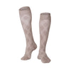 Touch Compression Men's Argyle Pattern Socks - 15-20 mmHg - Tan