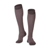 Touch Compression Men's Herringbone Pattern Socks - 15-20 mmHg - Charcoal
