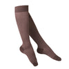 Touch Compression Women's Herringbone Pattern Socks - 15-20 mmHg - Charcoal