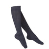 Touch Compression Women's Intelligent Rib Pattern Socks - 15-20 mmHg - Navy