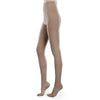 Therafirm EASE Sheer Open Toe Pantyhose - 30-40 mmHg - Sand