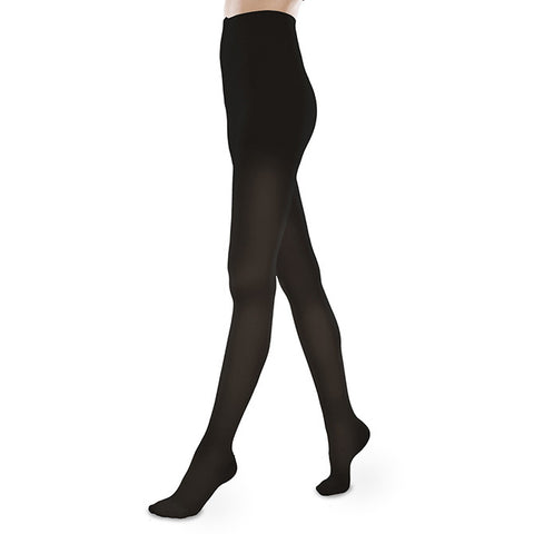 Therafirm EASE Sheer Closed Toe Pantyhose- 30-40 mmHg - Black
