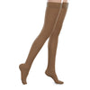 Therafirm EASE Sheer Closed Toe Thigh Highs w/Silicone Band - 20-30 mmHg - Bronze