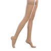 Therafirm EASE Sheer Closed Toe Thigh Highs w/Silicone Band - 20-30 mmHg - Sand