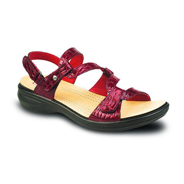 Revere Women's Miami Sandals- Red Croc