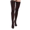 Therafirm EASE Microfiber Closed Toe Thigh Highs w/Silicone Band - 15-20 mmHg