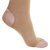 AW Style 515 Microfiber Opaque Open Toe/Open Heel Knee Highs - 20-30 mmHg - Foot