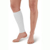 AW Style 510 Microfiber Compression Calf Sleeve - 20-30 mmHg (Single) (SALE) Small White