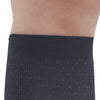 AW Style 625 Men's Pin-Dot Pattern Microfiber Knee High Dress Socks - 15-20 mmHg - Band
