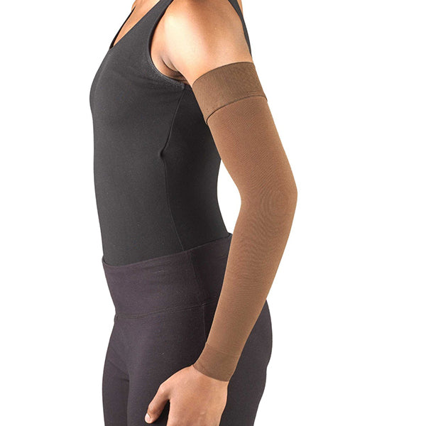 AW Style 7161 Lymphedema Armsleeve w/Silicone Top Band - 20-30 mmHg (Sale)