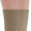 AW Style 736 Cotton Diabetic Crew Socks  - Two Pack - Top Band
