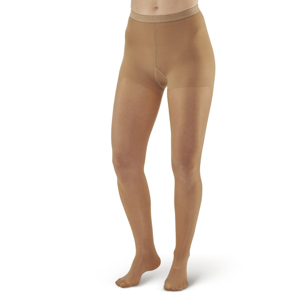 AW Style 78 Soft Sheer Pantyhose - 8-15 mmHg -Natural