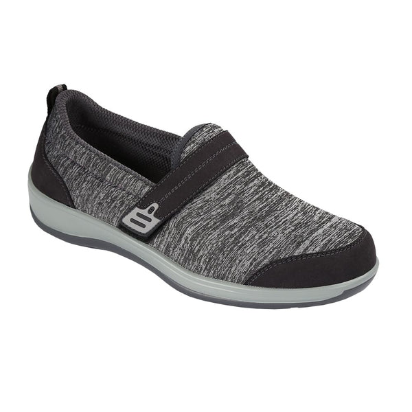 Orthofeet Women's Quincy Slip-On Shoes Grey