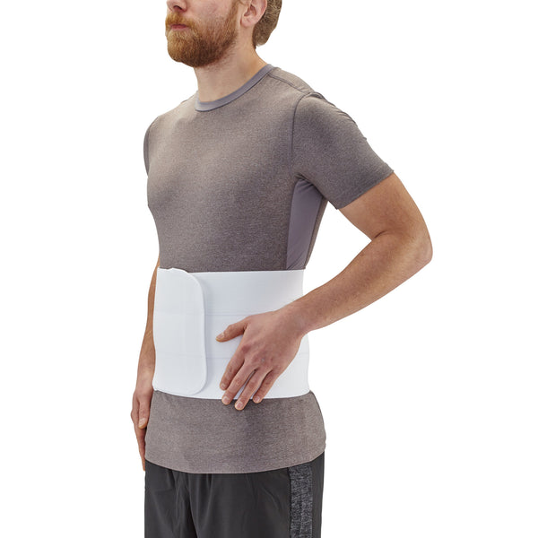 AW Style C20 Universal Abdominal Binder White Universal/One Size Fits All