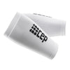 CEP Compression Forearm Sleeves white
